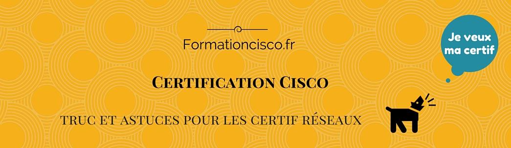 Formation et cours Cisco